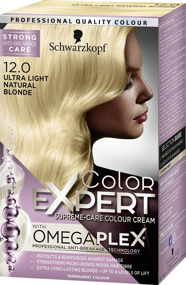 Schwarzkopf Color Expert Omegaplex Hair Dye 6 88 Intense Red Henkel