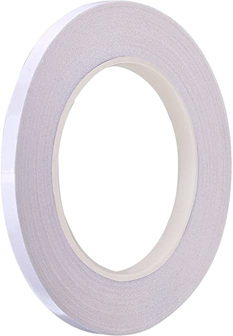 Wash Away Double Sided Tape for Fabric Cloth Suwimut 4 Rolls 1//4 Inch Quilting Sewing Tape Each 22 Yard
