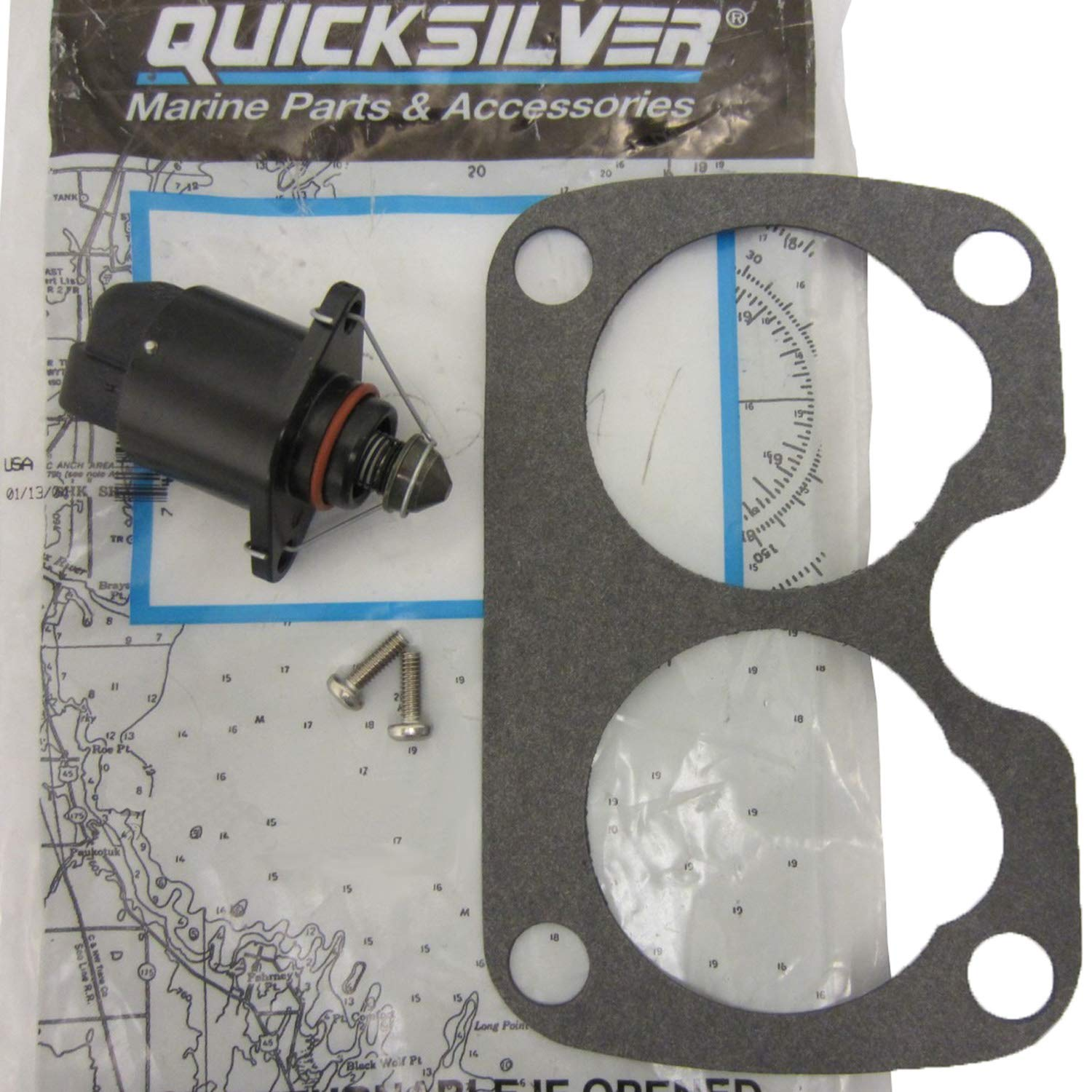 MERCURY/QUICKSILVER PARTS 805224A 1 - Mercury/Quicksilver Parts Iac Valve-305/350/454/502 ** 80522