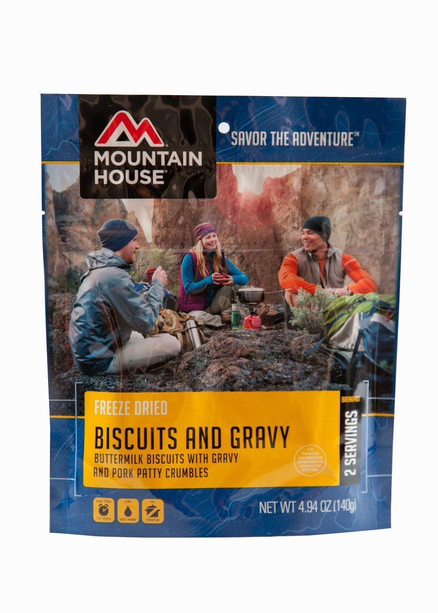 Mountain House Biscuits & Gravy (4 Pack)