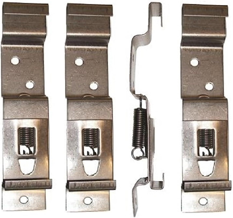4/x remolque n/úmero placa Clips o soportes primavera Cargado Acero Inoxidable PT no lmx2104