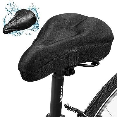 Cushion Seat Padded Soft Road Bicycle Saddle Mountain Cruiser Gel Bike Comfort