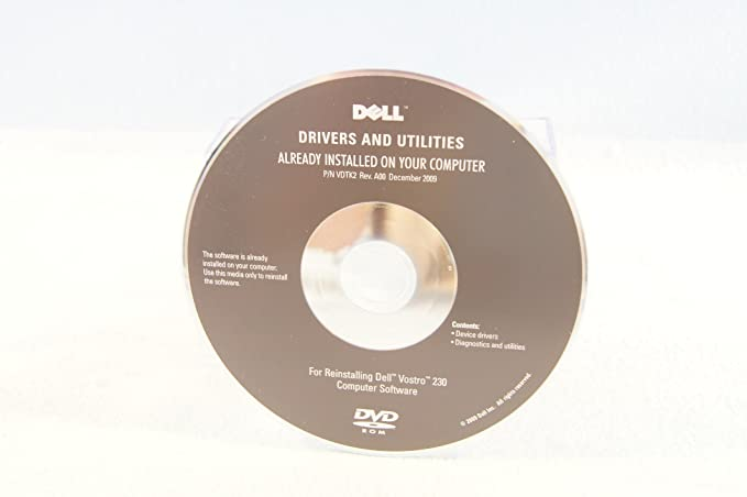 reinstall dell drivers and utilities cd