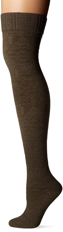 Pendleton Women's Arrow Revival Over The Knee Socks, Medium(6-10), Green McCubbin Hoisery 7402-W