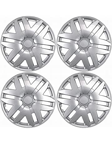 amazon hubcaps hubcaps trim rings hub accessories AMC Hubcaps 16 inch hubcaps best for 2004 2010 toyota sienna set of 4