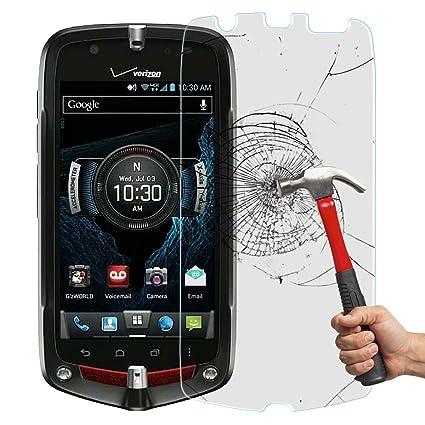 amazon com gdluck bubble free tempered glass screen protector for rh amazon com Casio G'zOne Accessories Casio G'zOne Accessories
