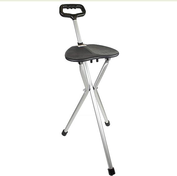 Baston de Aluminio con asiento plegable de Prim