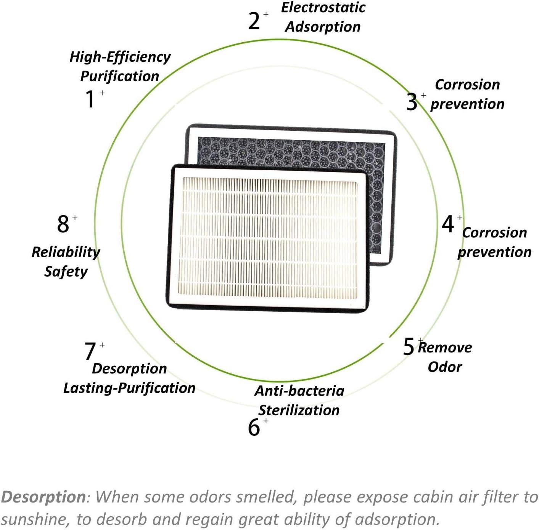K/&N Filters Cabin Air Filter For 12-15 Tesla S