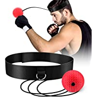 TTKLLLL Upgraded Boxing Reflex Ball, Boxing Training Ball, Mma Speed Training Suitable for Adult/Kids Best Boxing Equipment for Training, Hand Eye Coordination and Fitness.