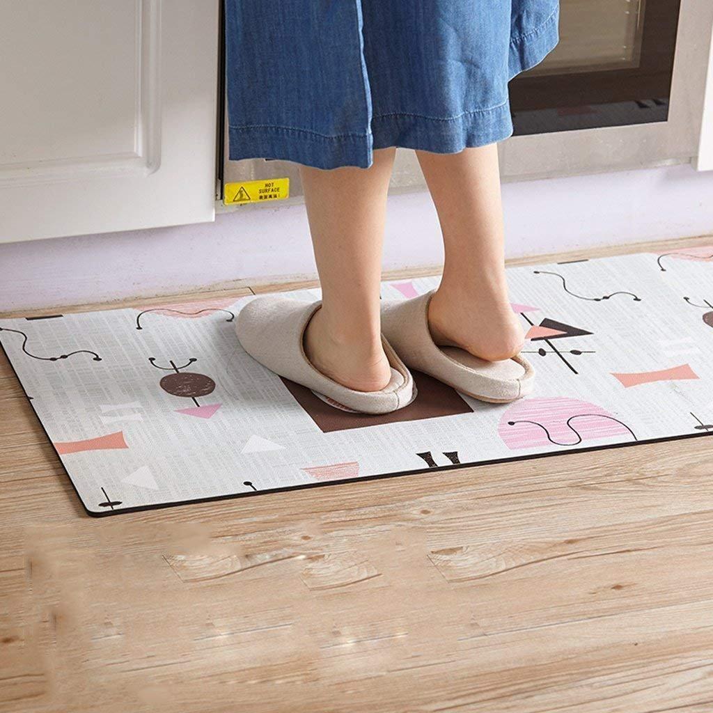 JU Tapetes/Colchonetas de Cocina de alfombras Líneas de ...