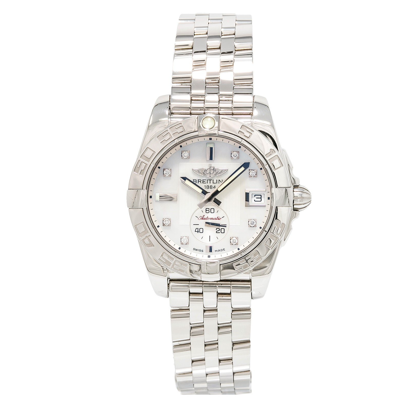 Breitling Galactic automatic-self-wind womens Watch A37330 (Certified Pre-owned)
