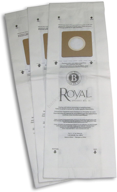 Royal Type B Vacuum Bags - 10 per Pack