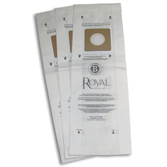 Amazon.com - Royal Type B Vacuum Bags - 10 per Pack - Household Vacuum Bags Upright