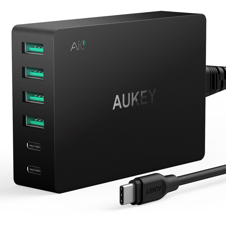 71hG0DFmANL. SL1500  - USB C : 6 codes promo Aukey exclusifs (chargeur, câbles, hub, ...)