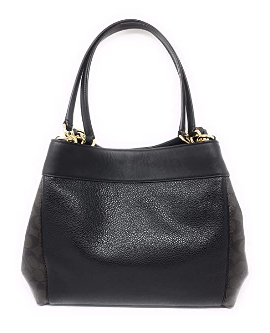 Amazon.com: COACH F32977 LEXY SHOULDER BAG IN SIGNATURE ...