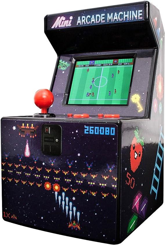 Thumbs Up!- 1001473 Retro Mini Arcade Machine, Multicolor (OR ...