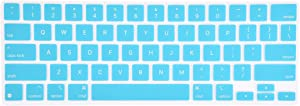KeyCover - Ultra Thin Keyboard Cover Compatible with iPad Pro 12.9 inch Magic Keyboard 2020 (4nd Generation), iPad Pro 12.9 Keyboard Cover - Mint