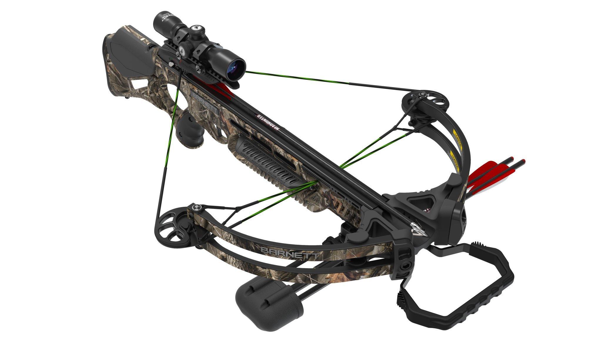 Barnett BC Droptine NXT Crossbow Package, 360 FPS, Realtree Hardwoods Camo