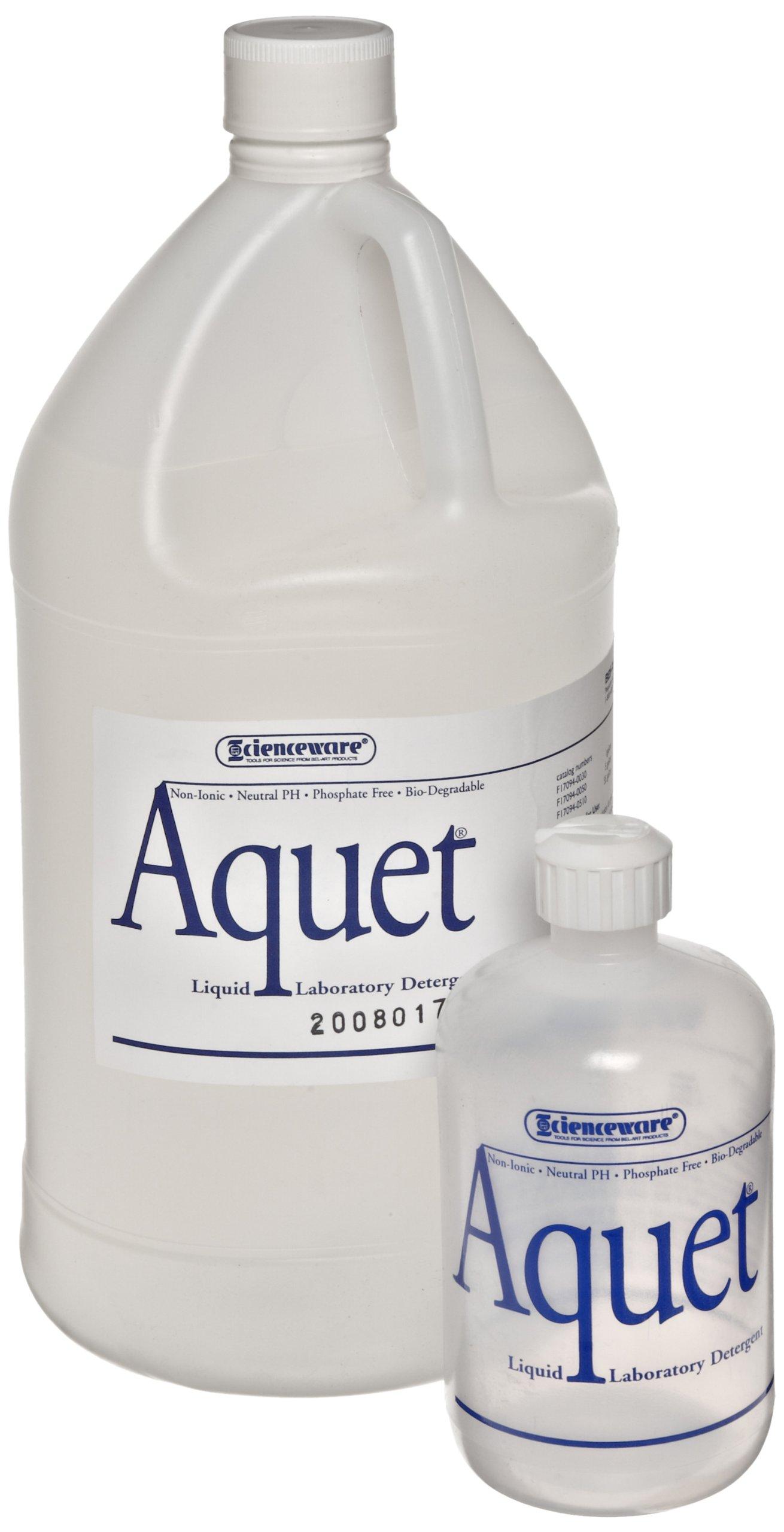 Bel-Art Aquet Detergent for Glassware and Plastics; 1 Gallon Bottle (F17094-0030) by SP Scienceware