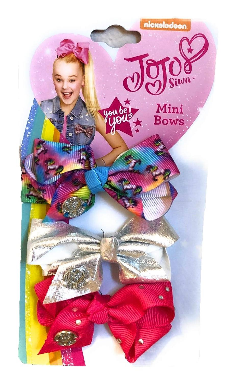 Unicorn Glitter Toddler Hair Bows Girls Hair Clips Accessories X4 Hair Bow Gift