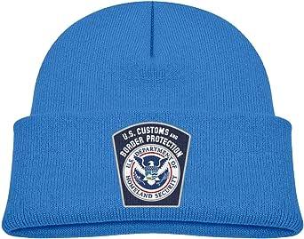ADGoods Kids Children US Customs Border United States Beanie Hat Knitted Beanie Knit Beanie For Boys Girls Gorra de béisbol para niños