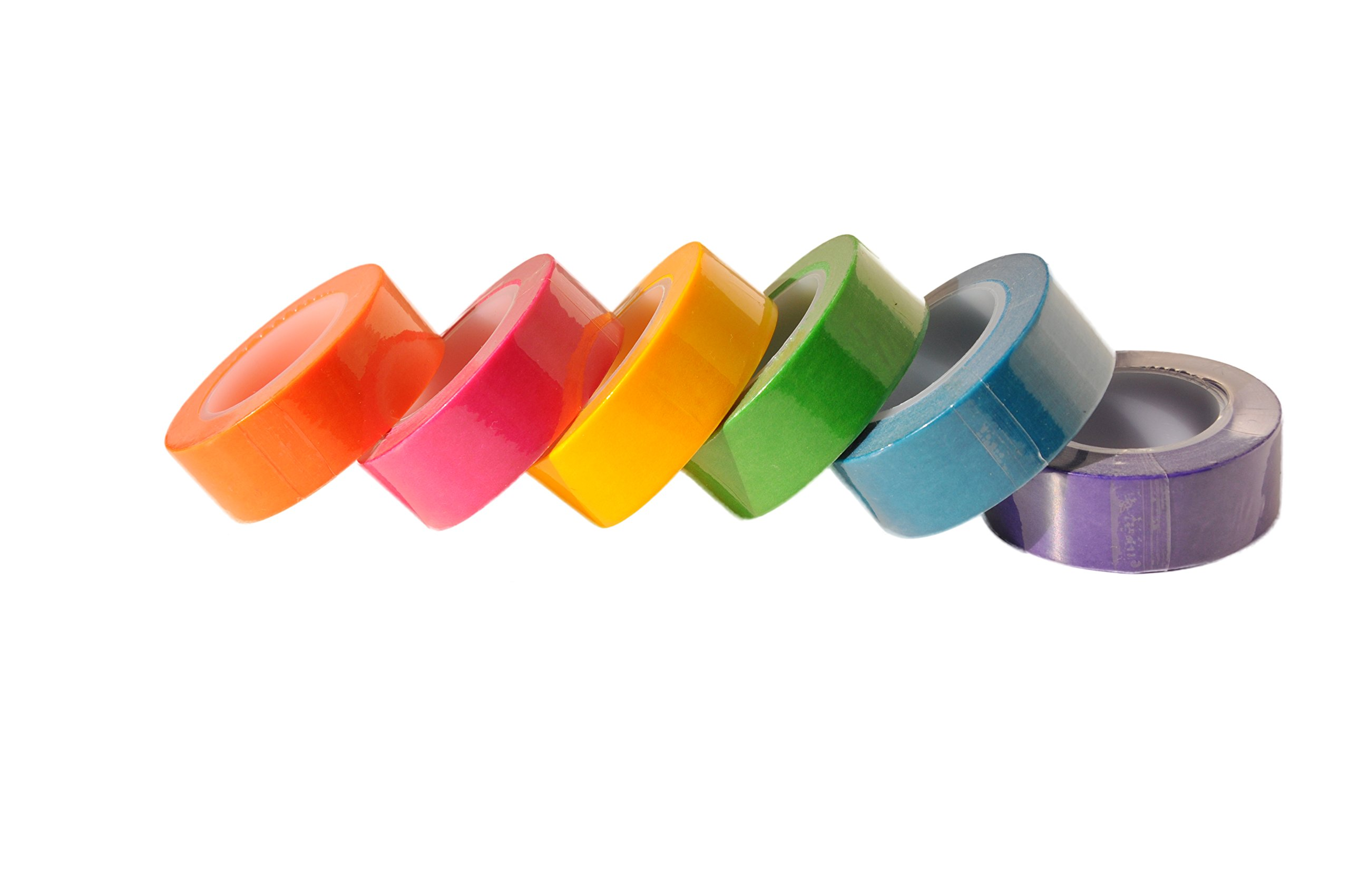 Homestic Removeable Highlighter Tape 0.6-inch x 393-inch, Fluorescent Colors (6 Colors with Dispenser) by Homestic (Image #4)