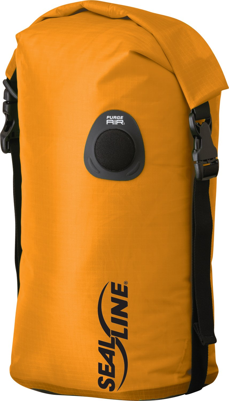 SealLine Bulkhead Compression Dry Bag, Orange, 10-Liter