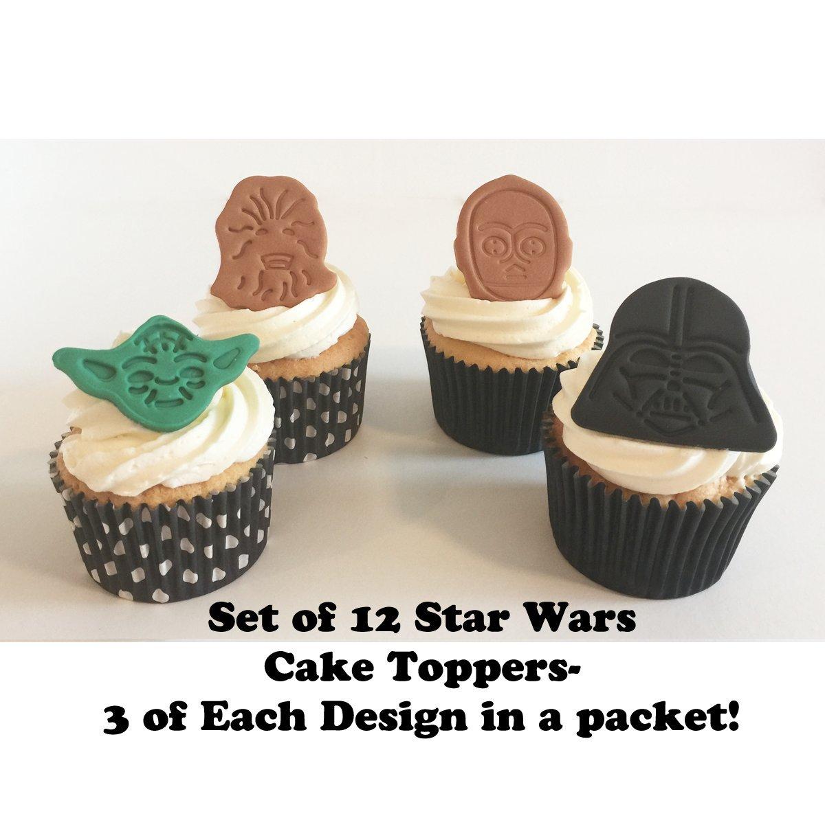12 Striking Sugar Star Wars Cake Decorations Made With Love