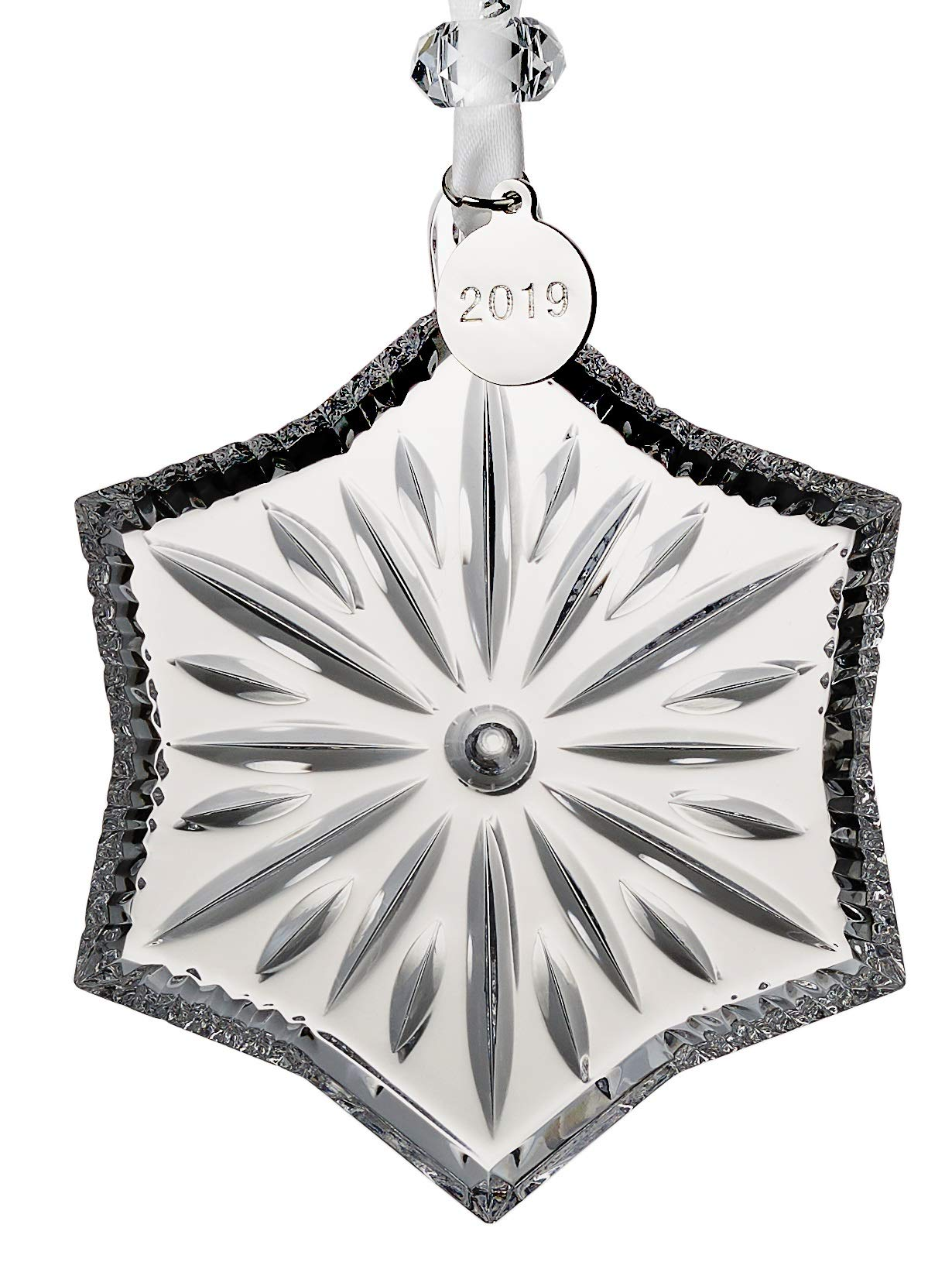 Waterford Crystal Snowcrystal Ornament 3.7''