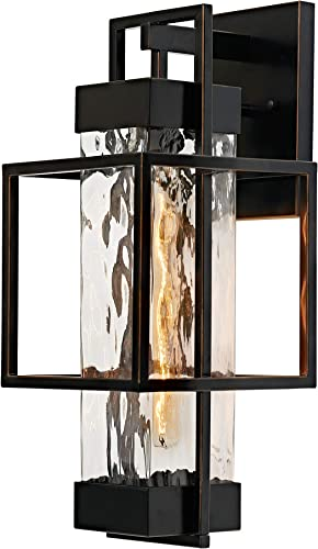 MOTINI 1-Light Outdoor Wall Lantern Exterior Wall Sconce Light Fixture