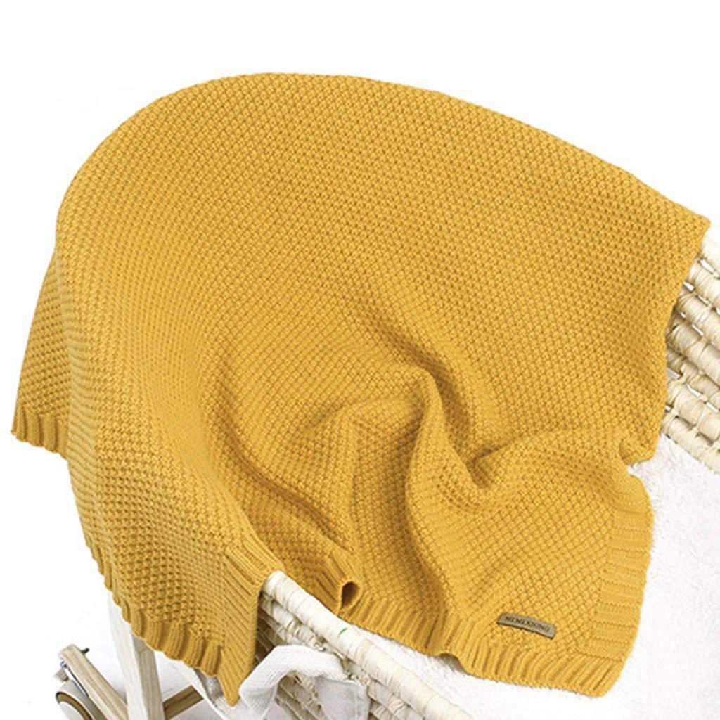 Accessoire Chanceli/ère Poussette Tapis B/éb/é Pliable Beige Manyo Couverture Tricot B/éb/é Sac de Couchage Hiver Couverture Emmaillotage B/éb/é