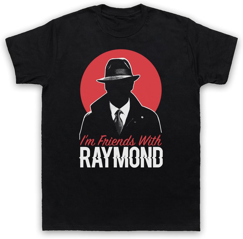 The Guns Of Brixton Blacklist Im Friends with Raymond Camiseta para Hombre, Negro, Large: Amazon.es: Ropa y accesorios