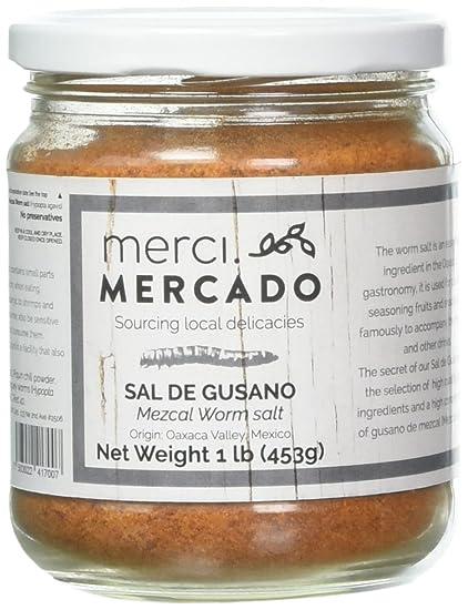 Amazon.com : NOT AVAILABLE - Sal de gusano - Gourmet edible worm salt from Oaxaca Mexico (1lb) : Grocery & Gourmet Food