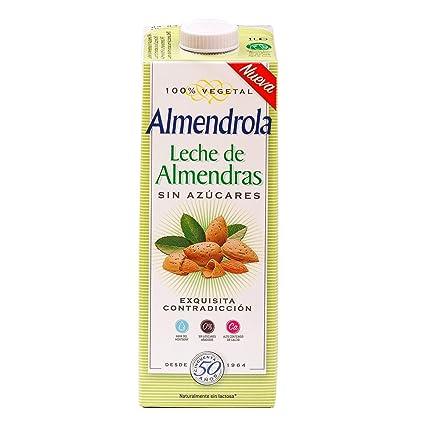 Almendrola Bebida Vegetal de Almendras sin azucar - Paquete de 6 x 1000 ml - Total: 6000 ml: Amazon.es: Alimentación y bebidas