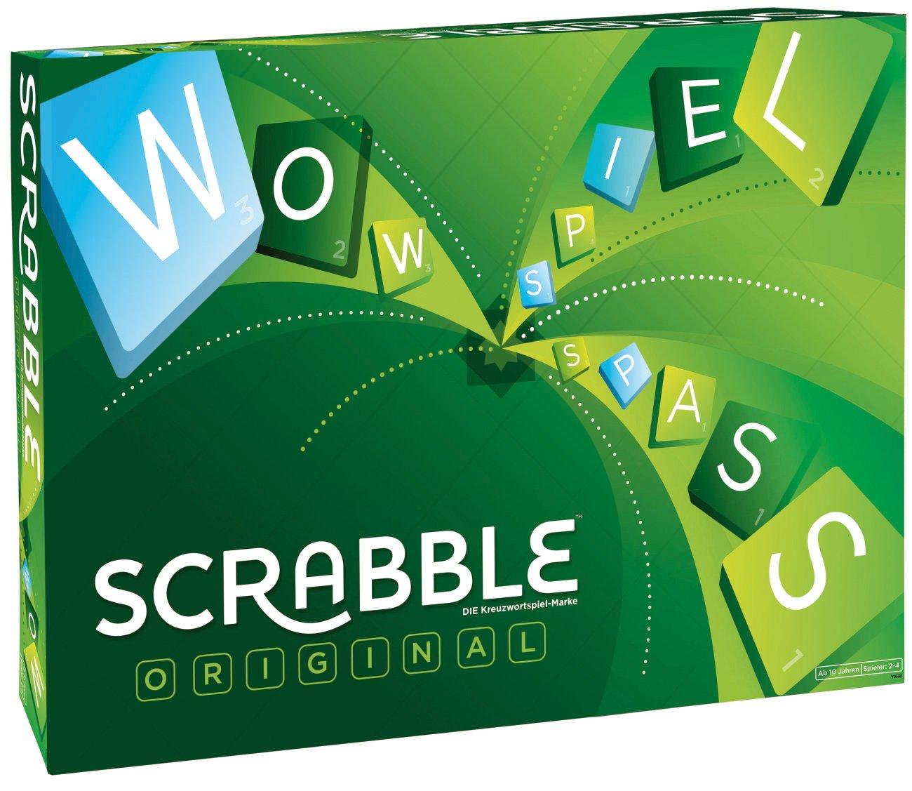 Mattel Scrabble Original - Juego de tablero Multi , color/modelo surtido: Amazon.es: Libros en idiomas extranjeros