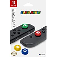 Super Mario Analog Caps, Nintendo Switch - Accesorios y piezas de videoconsolas (Nintendo Switch, Nintendo Switch, Azul, Verde, Rojo, Amarillo, Nintendo Switch)