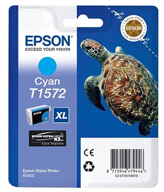 5 opinioni per Epson T1573 Cartuccia d'Inchiostro XL, Colore Ciano