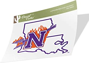 Northwestern State University NSU Demons NCAA Vinyl Decal Laptop Water Bottle Car Scrapbook (Sticker - 00002)