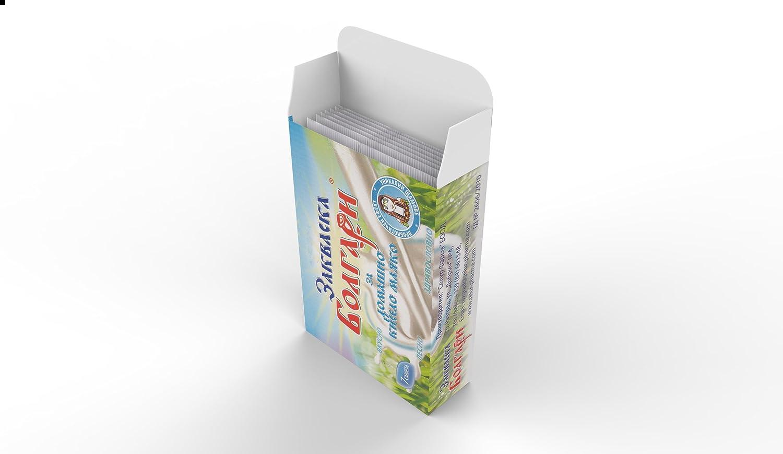 Pack de 12 Sachets de Culture lyophilisée pour un yaourt fait ...