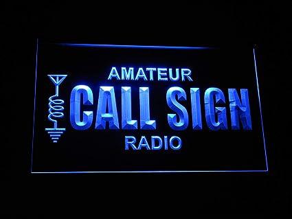 sign Amateur call