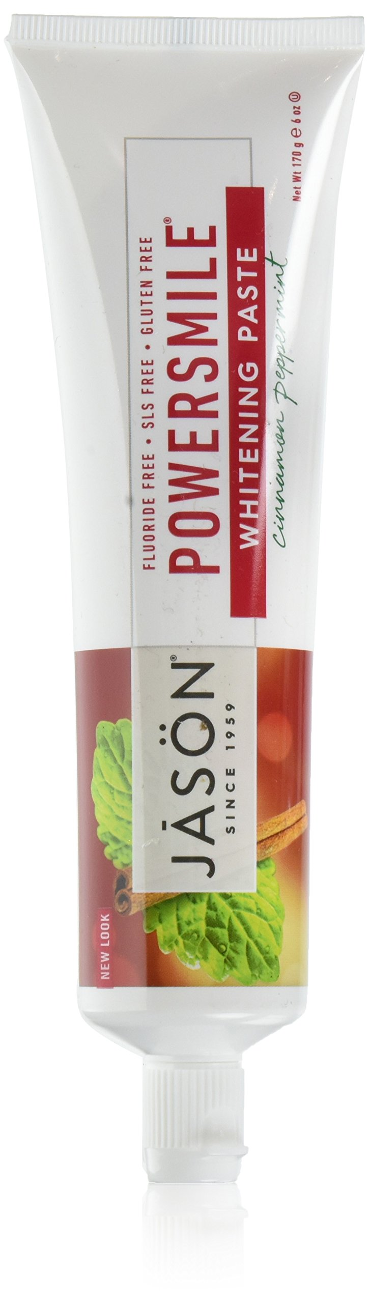 JASON Powersmile Toothpaste, Cinnamon Peppermint, 6 Ounce