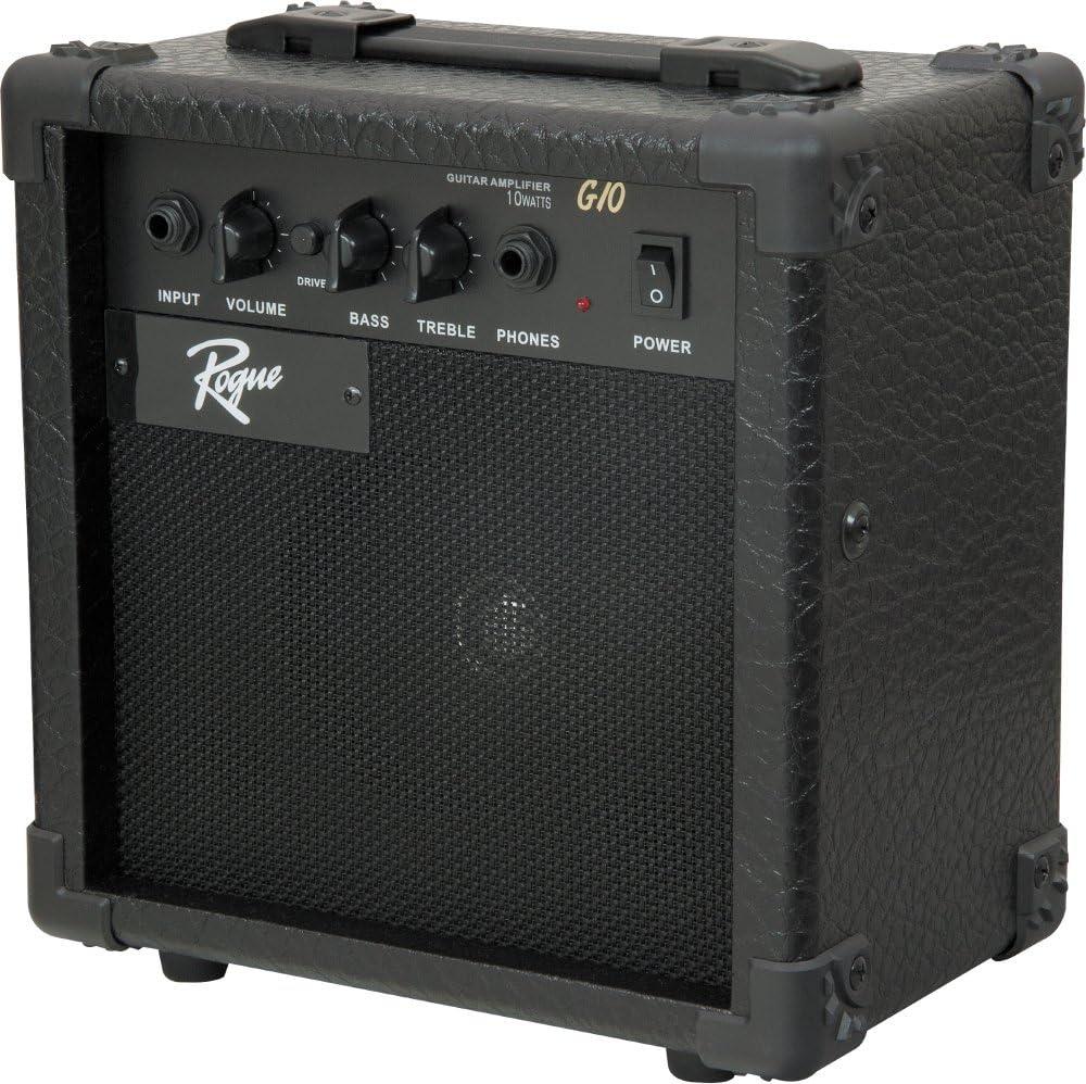 Rogue Rocketeer Pack de guitarra eléctrica, color azul: Amazon.es: Instrumentos musicales