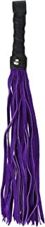 product image for Liberator Merino Flogger Handmade Soft Suede and Leather Whip, Small, 0.6 Pound
