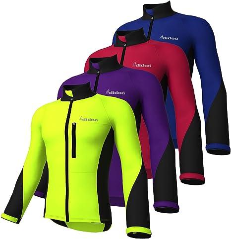 Didoo chaqueta impermeable Ciclismo chaquetas cortavientos ...