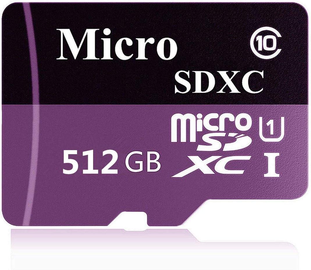 tableta y PC Gentai Tarjeta Micro SD de 256GB//400GB//512GB//1024GB Clase 10 SDXC de alta velocidad con adaptador SD para tel/éfono 1024GB-A