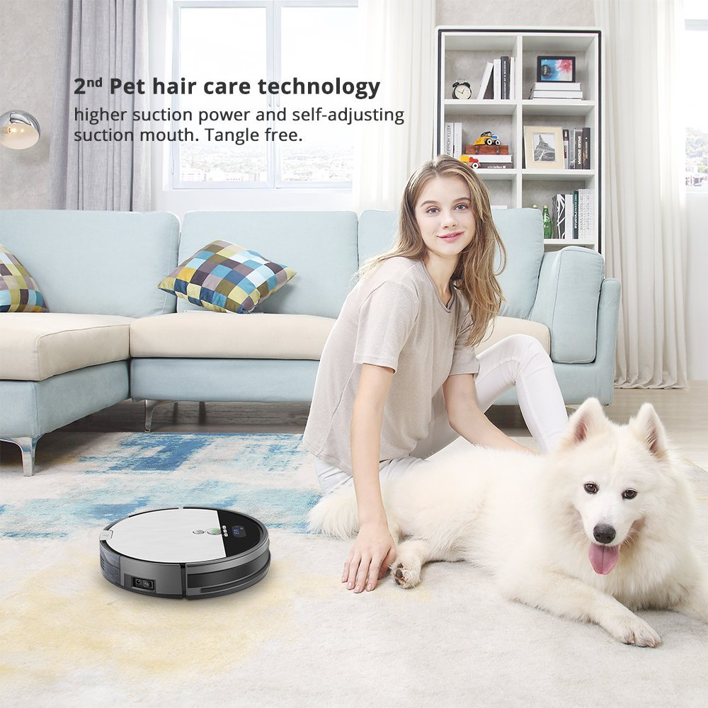 ILIFE V8s Robot Vacuum Cleaner Navigated Vacuuming and Mopping by ILIFE (Image #6)