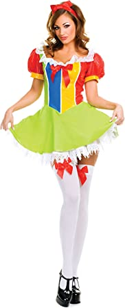 ToBeInStyle Women/'s Vinyl Fairyland Princess Dress