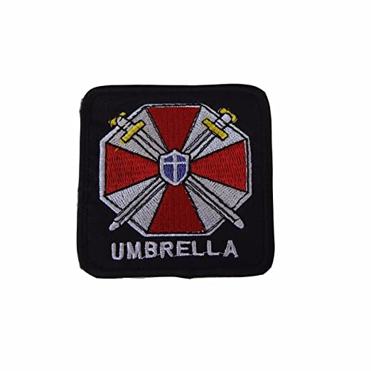Amazon Resident Evil Umbrella Corporation Symbol And Name Patch