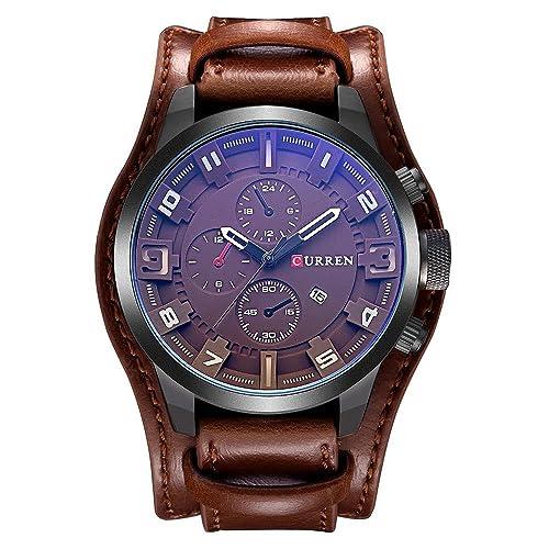 10. Curren Men's Sports Waterproof Wrist Watch