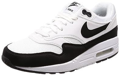 Nike WMNS Air Max 1 Womens 319986-109 Size 5 White Black 806d87dd1